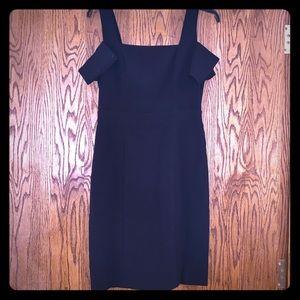 Bcbg cold shoulder dress.